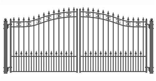 Dual Swing Driveway Gate