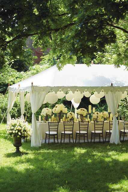 Wedding Tent Ideas for a Fraction of the Cost of Rentals ...