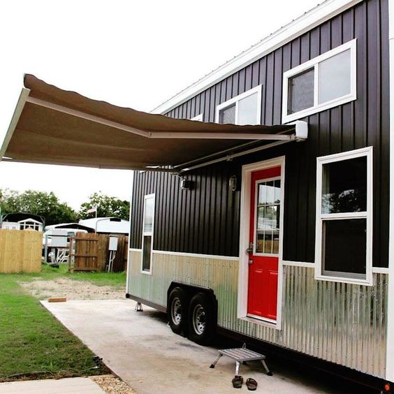 Sun Shades And Awnings For Tiny Houses Aleko Blog